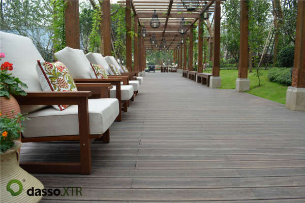 Wood Source | Decking | Dasso fused bamboo | Cognac